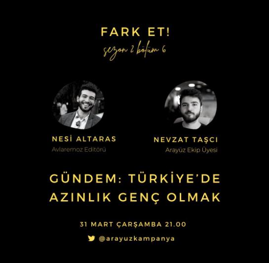 Türkiye'de Azınlık Genç Olmak