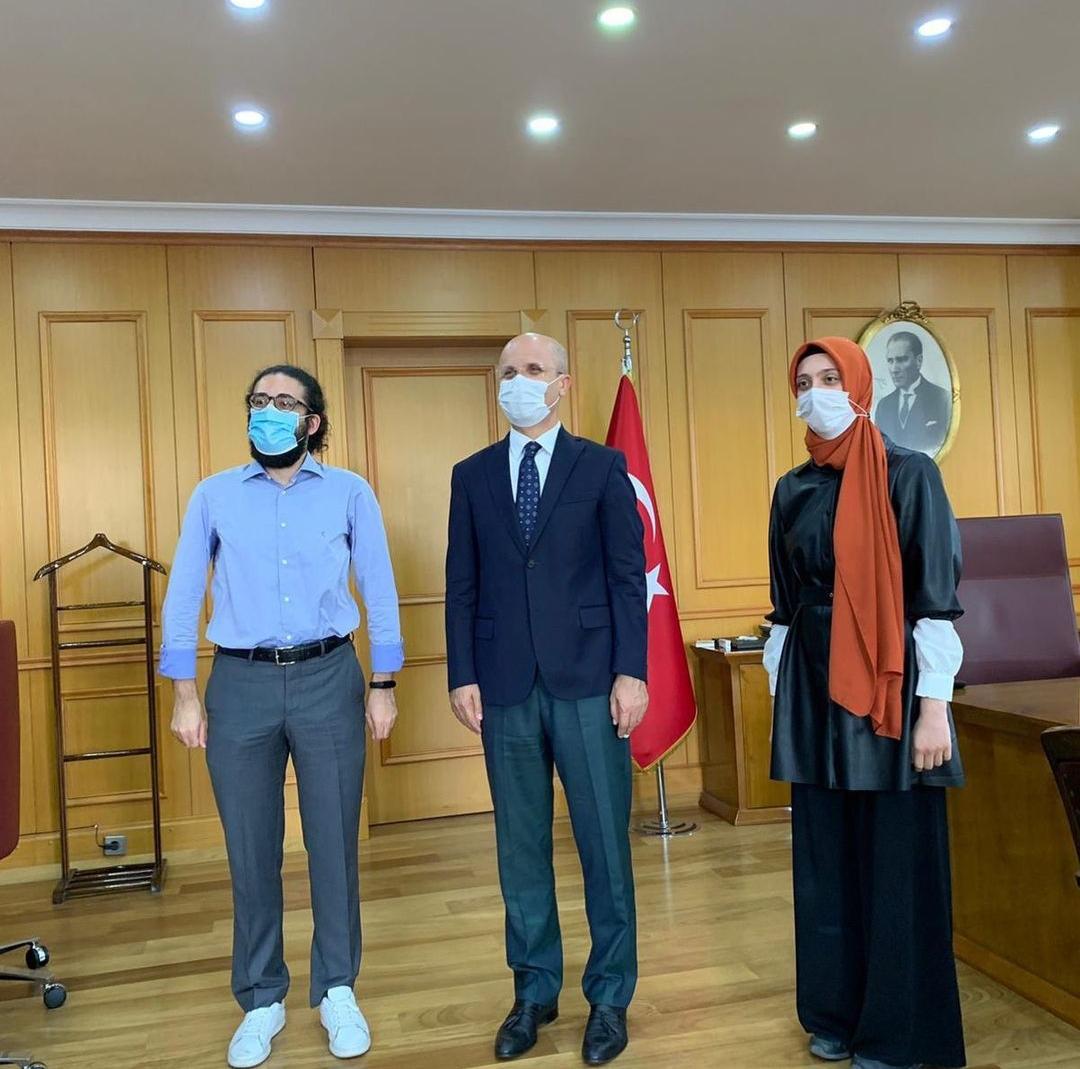 Marmara Üniversitesi Rektörü Ziyaret Edildi